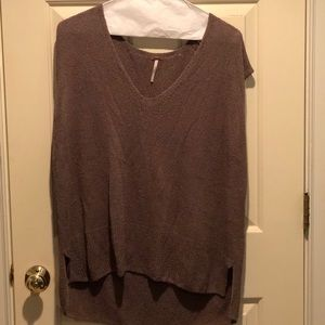 Free people sleeveless sweater